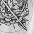 Pioenroos/Mandala detail